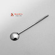 Salt Spoon Sterling Silver