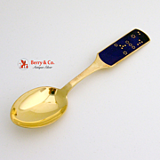 SALE Christmas Spoon 1964 Michelsen Sterling Silver