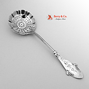 Italian Tiffany Sugar Sifter 1870 Sterling Silver