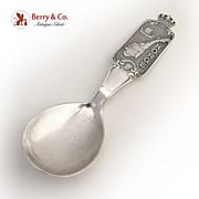 Norge Island Souvenir Spoon Norwegian 800 Silver