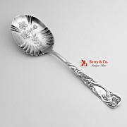 Siren Serving Spoon Rogers 1891 Silver Plate