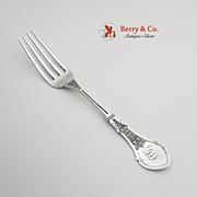 Alameda Or Ivy Dinner Fork Sterling Silver Koehler And Ritter 1870