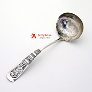 Fontainebleau Gravy Ladle Sterling Silver Gorham 1882