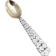 Snow Flowers Christmas Spoon 1956 Michelsen Sterling Silver