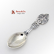 Michelsen Peace On Earth Christmas Spoon Sterling Silver 1919