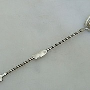 Oyster Fork/Spoon Gorham Sterling Silver 1885