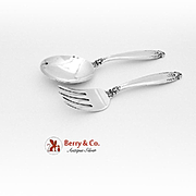 SALE Prelude Baby Set Sterling Silver 2 Pieces International 1939