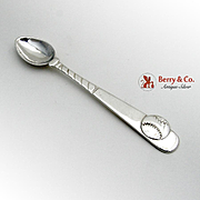 Tiffany Co Baseball Baby Spoon Sterling Silver 1995