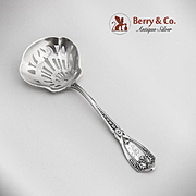 SOLD Sheraton Style Candy Nut Spoon Sterling Silver 1910