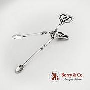 Georg Jensen Sugar Nips Sterling Silver Grape Design Number 131 Old GI Mark