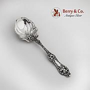Old Orange Blossom Preserve Spoon Sterling Silver Alvin 1905