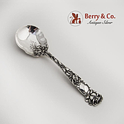 Bridal Rose Sugar Spoon Sterling Silver Alvin 1903