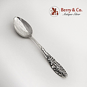 Merry Christmas Souvenir Spoon Sterling Silver Christmas Tree Handle Watson 1900