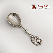 Vintage Norwegian Thune Small Serving Spoon Celtic Design 830 Silver
