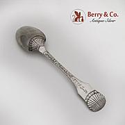 Antique Scandinavian Table Spoon 830 Silver 1775