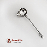 Antique Swedish Cream Ladle Figural Lady s Head Sterling Silver 1825