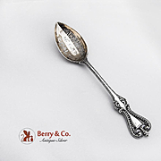 Old Colonial Sacramento Souvenir Teaspoon Sterling Silver Towle 1895