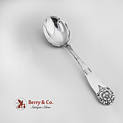 Hardanger Serving Spoon 830 Silver Norway Magnus Aase