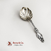 Lily Preserve Spoon Sterling Silver Whiting 1902