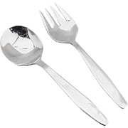 Baby Flatware Set Spoon and Fork Sterling Silver