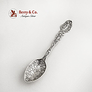 Unusual Versailles Coffee Spoon with Cherub Decorations in the Bowl Gorham 1885