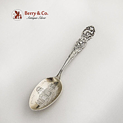 State Capitol Helena Montana Souvenir Spoon Sterling Silver