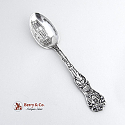 Art Institute Chicago Souvenir Spoon Sterling Silver Watson 1900