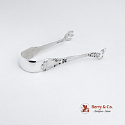 Chantilly Sugar Tongs Sterling Silver Gorham New Mark