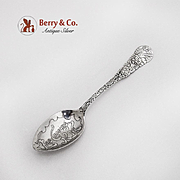 Cupid What Fools These Mortals Be Souvenir Spoon Sterling Silver Wendell 1895