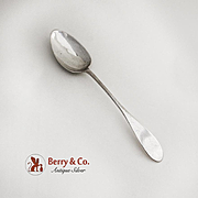 Antique Dessert Spoon late 18th Century Germany Continental Silver