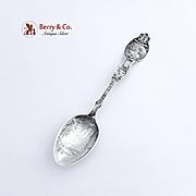 Minnesota Souvenir Spoon Minnehaha Falls Sterling Silver 1900
