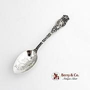 Ariel Teaspoon Sterling Silver Wendell 1895