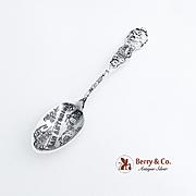 San Antonio Texas Souvenir Spoon Sterling Silver