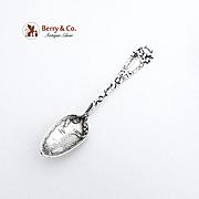 Selma Alabama Demitasse Souvenir Spoon Wallace Sterling Silver