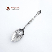 Washington DC Souvenir Spoon Sterling Silver Capitol Bowl Dominick and Haff