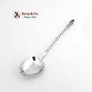 South American Souvenir Demitasse Spoon 900 Silver