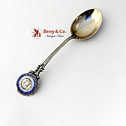 Eastman Business College Poughkeepsie NY Souvenir Spoon Sterling Silver