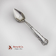 Kings Court Neapolitan Citrus Spoon F M Whiting Sterling Silver 1895