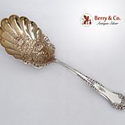 La Touraine Berry Spoon 1895 Sterling Silver No Monogram