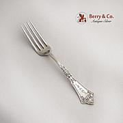 Vintage Regular Fork Original Pattern Hotchkiss And Schreuder Sterling Silver