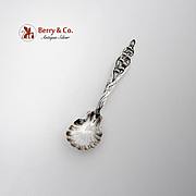 Lily Of The Valley Sugar Shell Spoon Whiting Mfg Co Sterling Silver