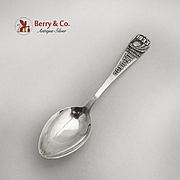 Century Of Progress Souvenir Spoon Chicago Watson Sterling Silver 1933