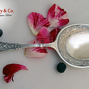 SOLD Arabesque Pastry Server Whiting Sterling Silver 1875