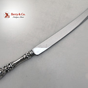 SALE PENDING Francis I Bread Knife Reed & Barton Sterling Silver Stainless