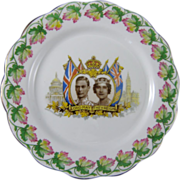 Royal Albert Plate to Commemorate the Royal Visit to Canada and United States in 1939
