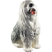 BESWICK Model 2232 Fireside Dog - Old English Sheepdog