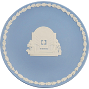 Wedgwood Blue Jasper Plate to Commemorate the opening of the Eaton's Center in Toronto Ontario