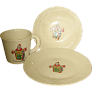 SALE Child's Romper Room Breakfast Set
