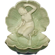SALE Nude in Clam Sea Shell Porcelain