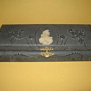 SALE Turn of the 20th Century Victorian Dresser Glove Box